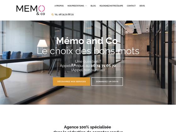 image du site http://www.memoandco.fr