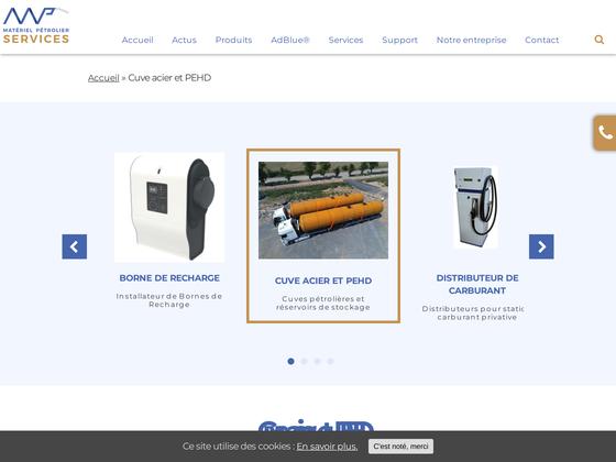 image du site http://www.mpservices.fr/produits/cuves-petrolieres/