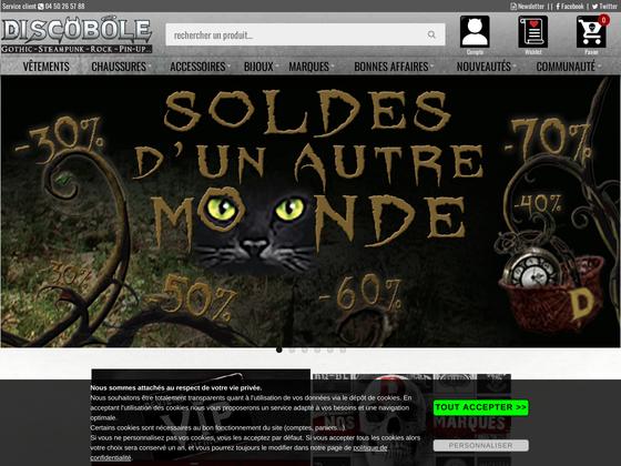 image du site http://www.newrock-vetement-gothique-metal.fr/