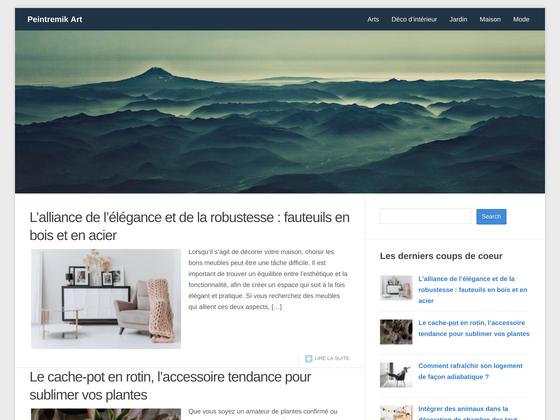 image du site http://www.peintremik-art.com/