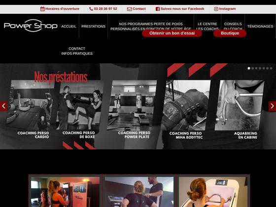 image du site http://www.powershop.fr/