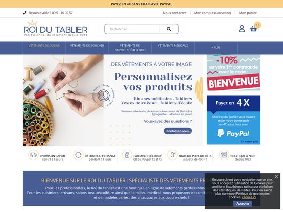 image du site http://www.roidutablier.com
