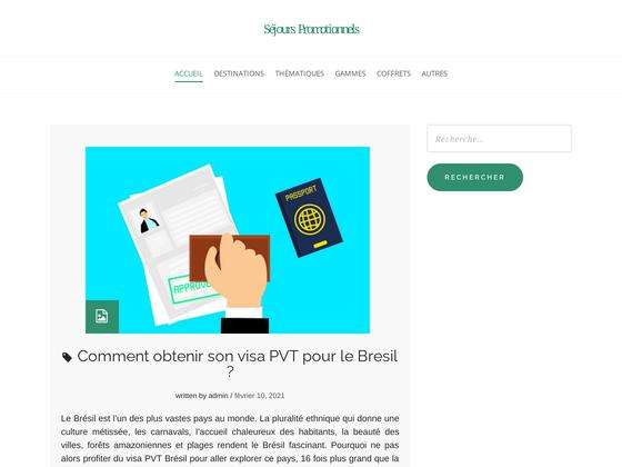 image du site http://www.sejours-promotionnels.com