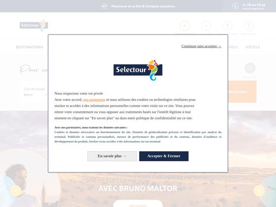 image du site http://www.selectour.com