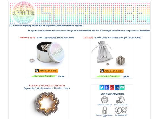 image du site http://www.supracube.com