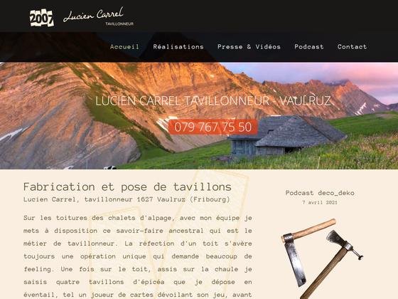 image du site http://www.tavillon-tavillonneur-chalet.ch