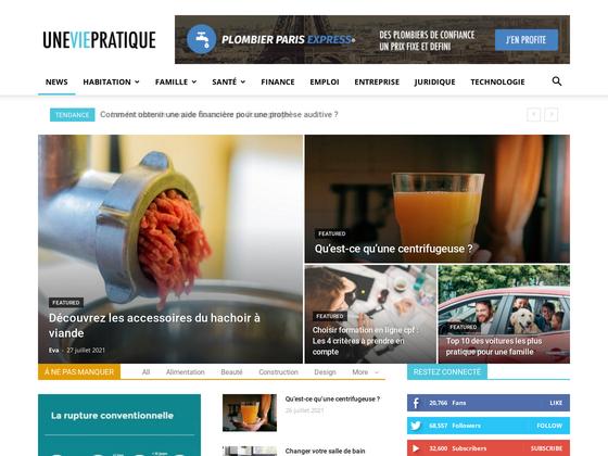 image du site http://www.uneviepratique.fr/