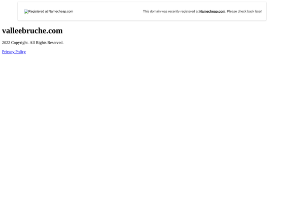 image du site http://www.valleebruche.com