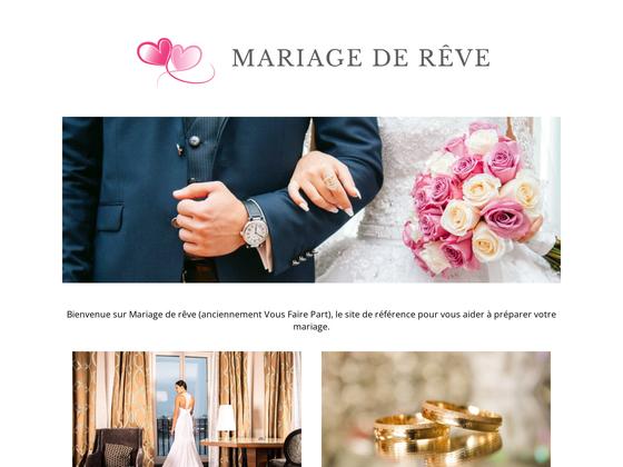 image du site http://www.vousfairepart.com/