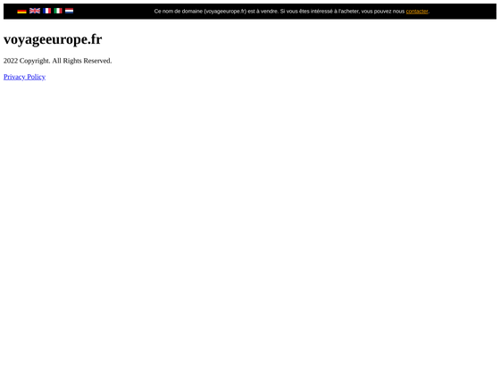image du site http://www.voyageeurope.fr/