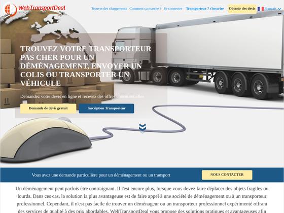 image du site http://www.webtransportdeal.com