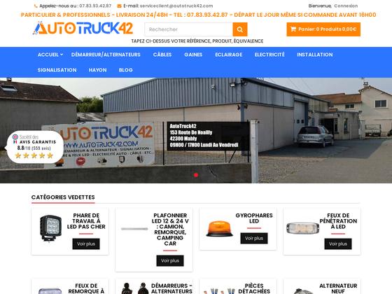 image du site https://autotruck42.com/