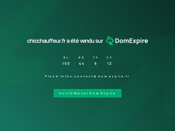 image du site https://chicchauffeur.fr