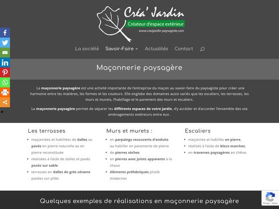 image du site https://creajardin-paysagiste.com/maconnerie-paysagere/