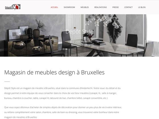 image du site https://depotstyle.be/