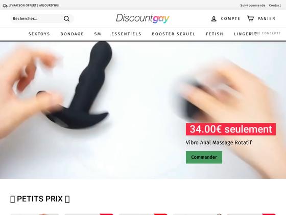 image du site https://discountgay.fr
