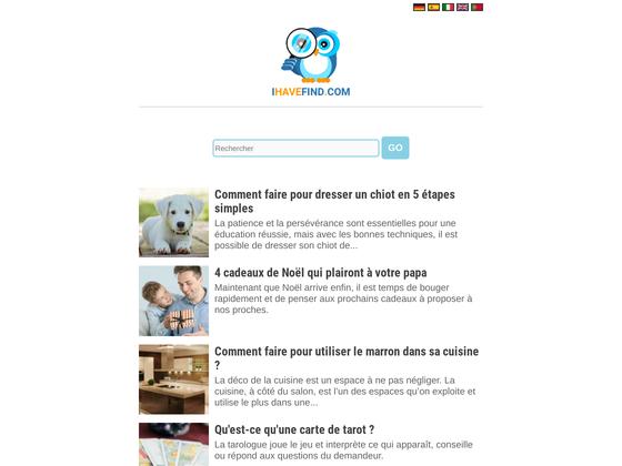 image du site https://fr.ihavefind.com