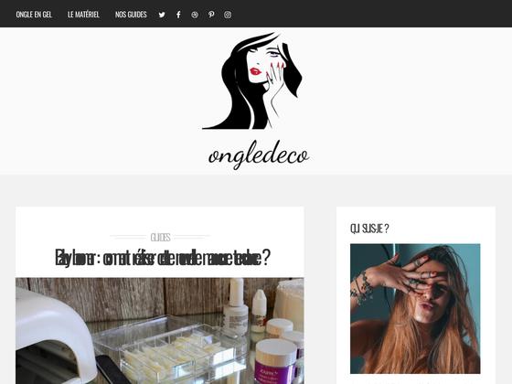 image du site https://ongledeco.fr/