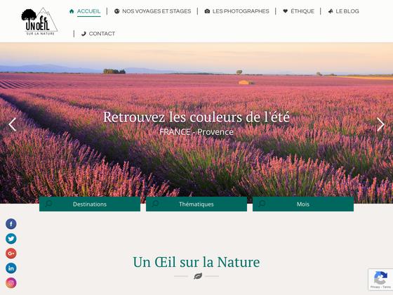 image du site https://unoeilsurlanature.com