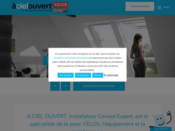 image du site https://www.acielouvert.com/