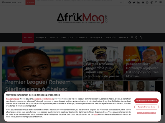 image du site https://www.afrikmag.com/