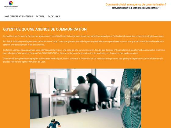 image du site https://www.agence-communication.digital/