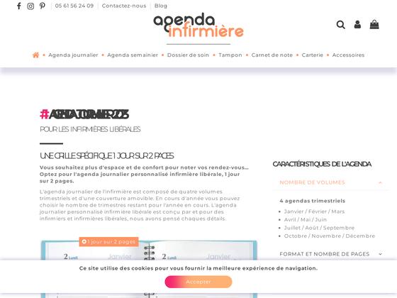 image du site https://www.agenda-infirmiere.fr/