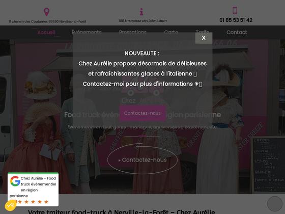 image du site https://www.chezaurelie-foodtruck.fr/