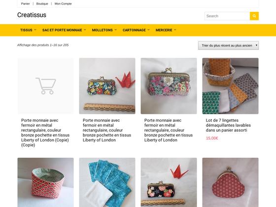 image du site https://www.creatissus.com
