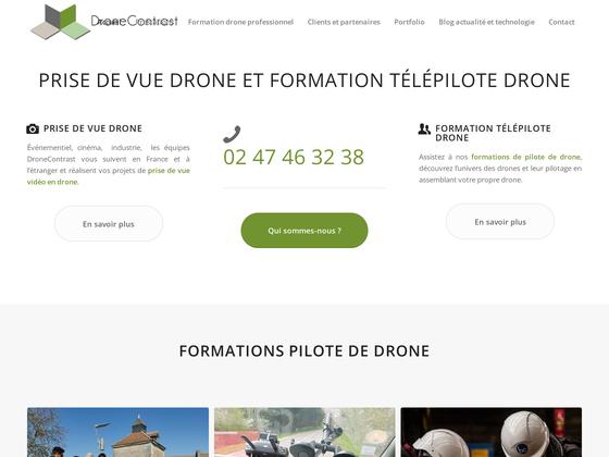 image du site https://www.dronecontrast.com/