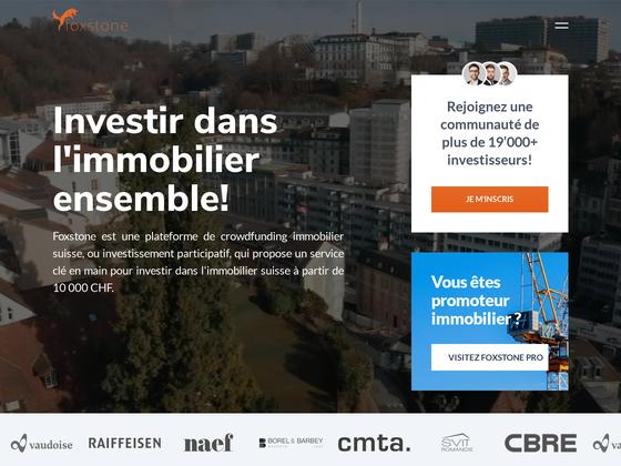 image du site https://www.foxstone.ch