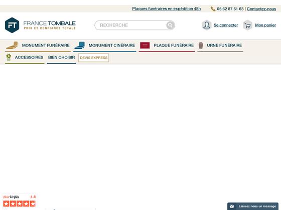 image du site https://www.france-tombale.fr/