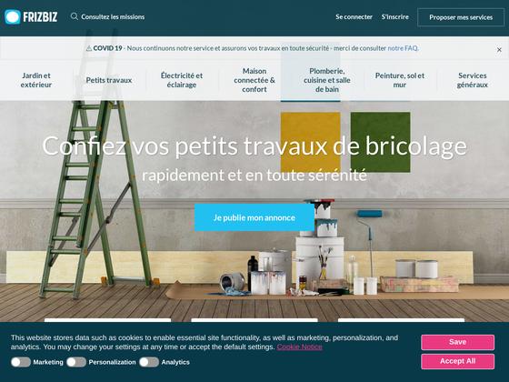 image du site https://www.frizbiz.com/fr