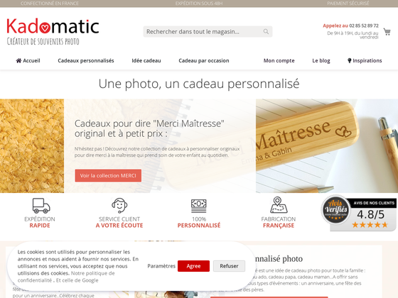image du site https://www.kadomatic.fr