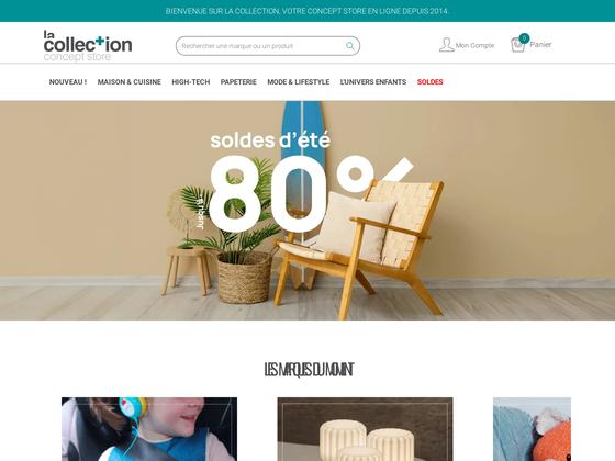 image du site https://www.la-collection.com/