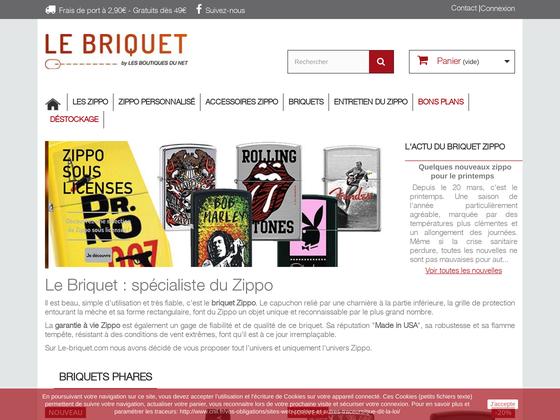 image du site https://www.le-briquet.com/
