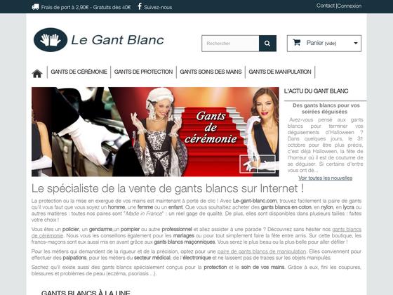 image du site https://www.le-gant-blanc.com/