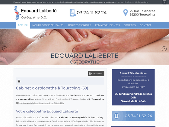 image du site https://www.osteopathe-laliberte.fr/