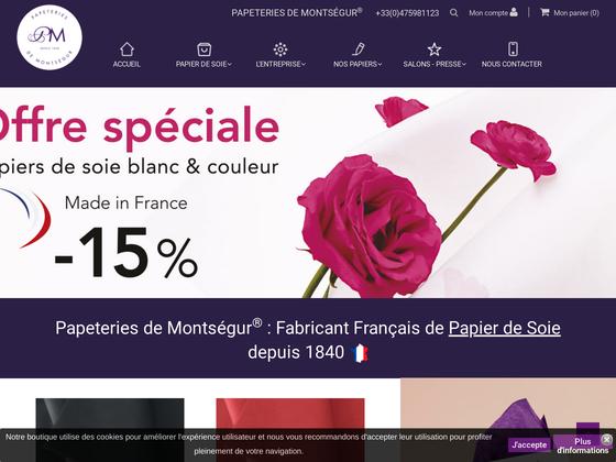 image du site https://www.papeteries-montsegur.com/