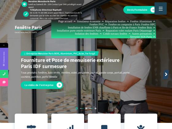 image du site https://www.paris-fenetre.fr/