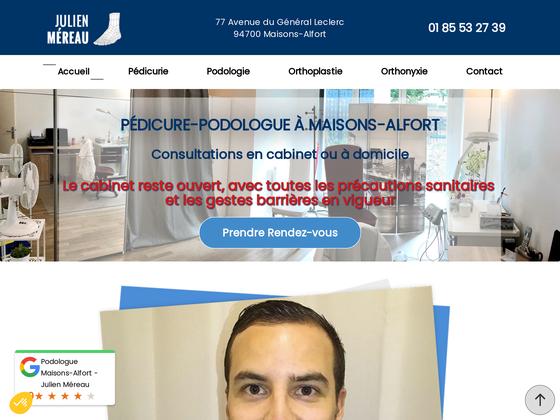 image du site https://www.pedicure-podologue-mereau.fr/