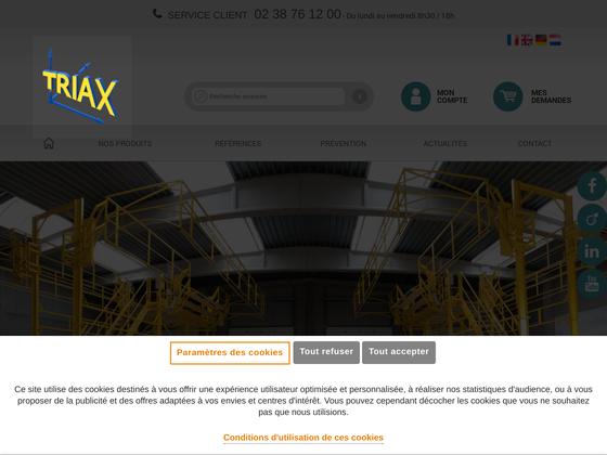 image du site https://www.triax-securite.com/fr/