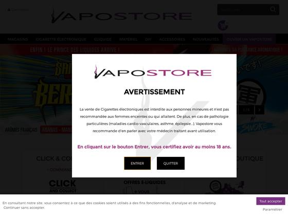 image du site https://www.vapostore.com/