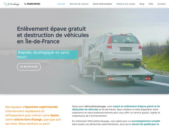image du site https://www.vehiculehorsdusage.fr/