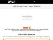 Cours de theatre amateur pour adultes à Paris