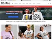 T-shirt personnalisé aux couleurs du pays