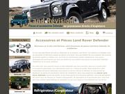 Des pièces Land Rover Defender pour assurer votre voyage