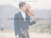 CLEMENT PIMENTA VIOLA, site vitrine du célèbre altiste Clément Pimenta