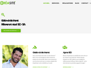 Création de site internet pas chers à Saint-loubes
