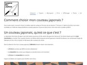 Lames du Japon, votre guide pour trouver le couteau japonais idéal